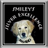 Smiley's Silver Excellence Award